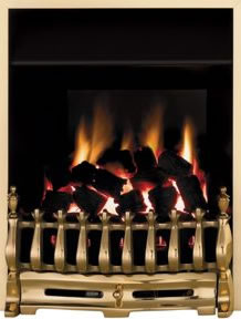 gas fires at homebase chrome black portable. Black Bedroom Furniture Sets. Home Design Ideas